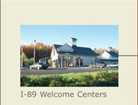 I-89 Welcome Centers